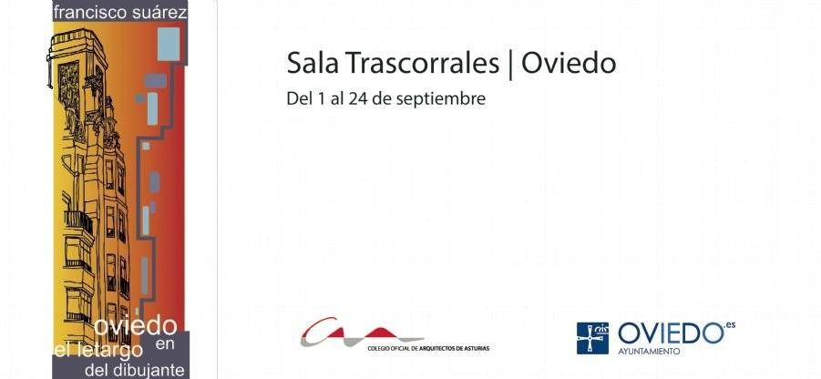 Edificios emblemáticos de Oviedo a lápiz y a color en Trascorrales
