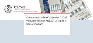 Encuesta sobre ANEXO y Cuadernos CSCAE