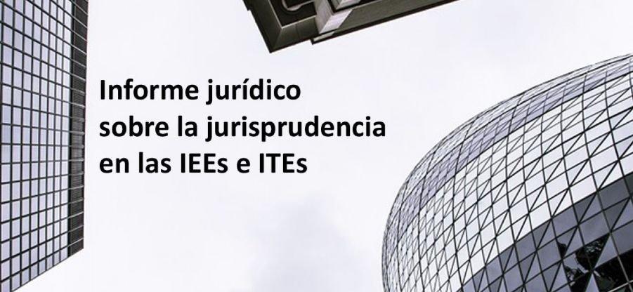Informe jurídico sobre competencias profesionales en IEE e ITEs