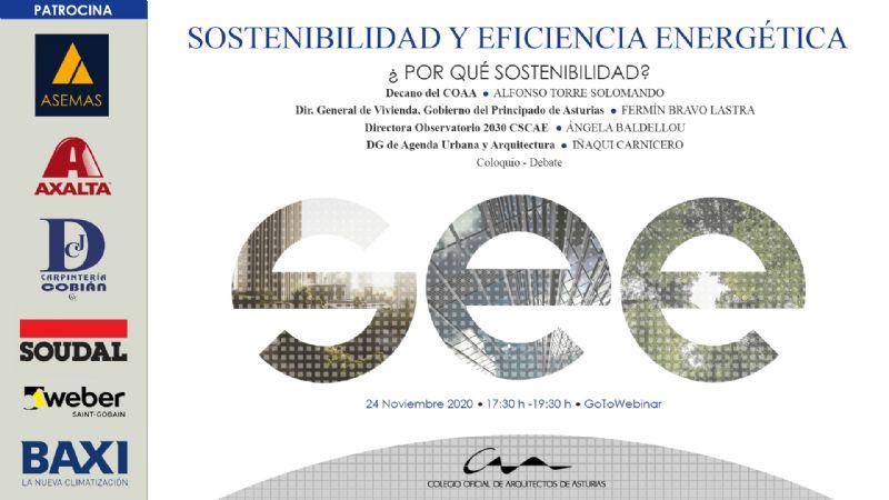 Jornadas Sostenibilidad y Eficiencia Energética 1: ¿Por qué sostenibilidad?