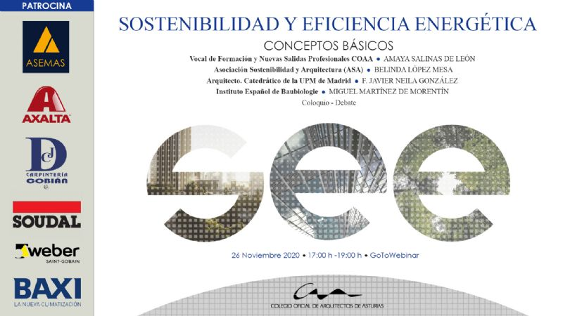 Jornadas Sostenibilidad y Eficiencia Energética 2: Conceptos básicos