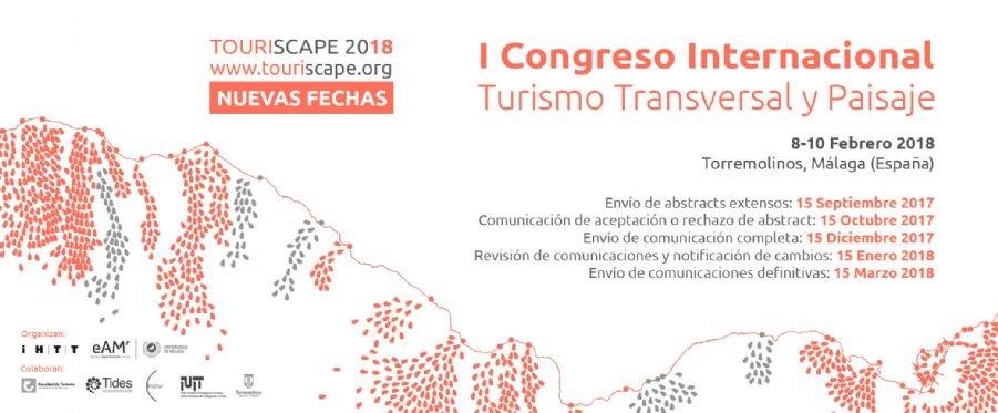 Touriscape, I Congreso Internacional sobre Turismo Transversal y Paisaje