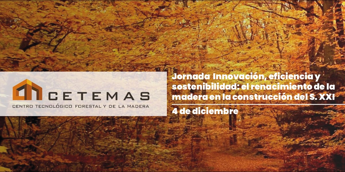 Jornada Innovación, eficiencia y sostenibilidad: el renacimiento de la madera en la construcción del S.XXI
