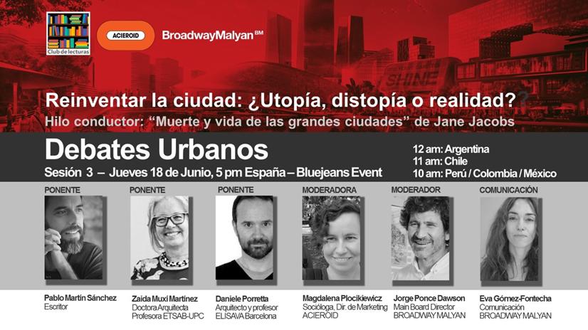 Reinventar la ciudad: ¿utopía, distopía o realidad?