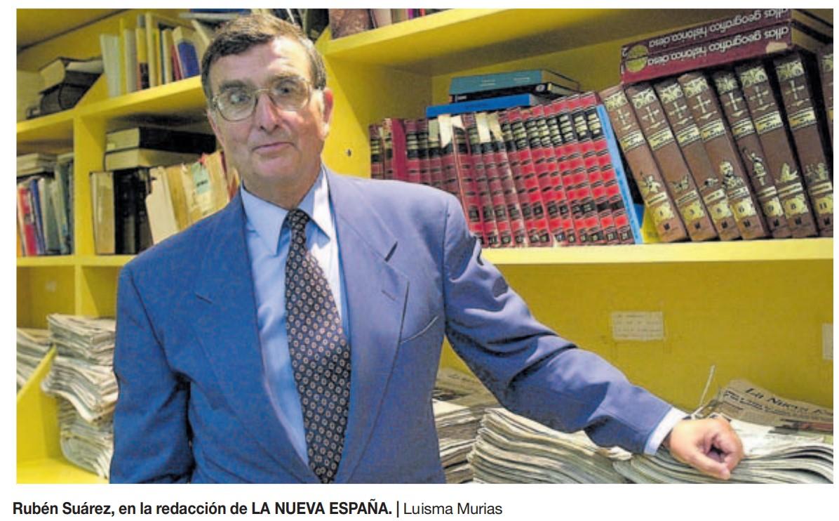 El COAA se suma al pésame por el fallecimiento de Rubén Suárez