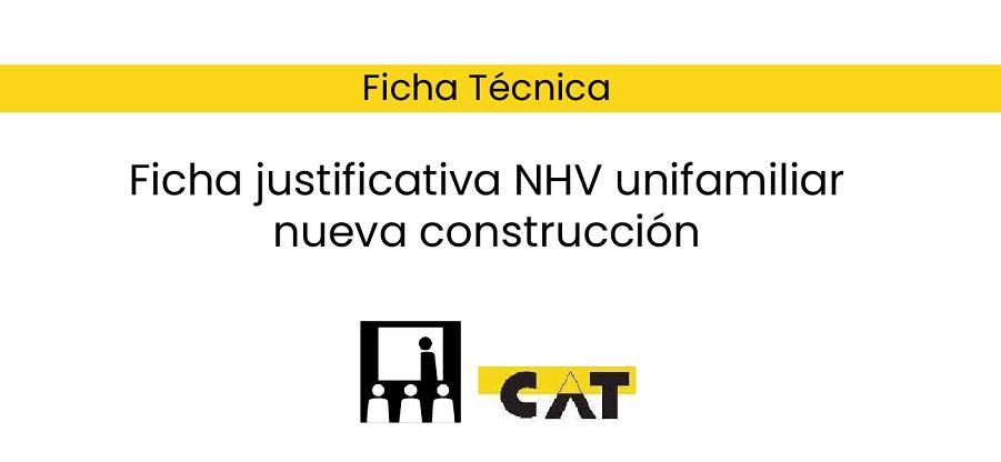 Ficha justificativa NHV unifamiliar nueva construcción