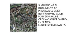 Sugerencias al documento de prioridades del área El Cristo - Buenavista