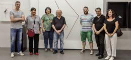 Visita al taller del escultor Herminio en la Caridad