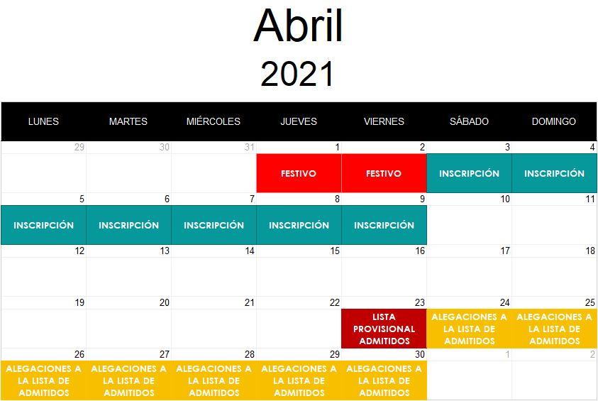 calendario premios asturias 2