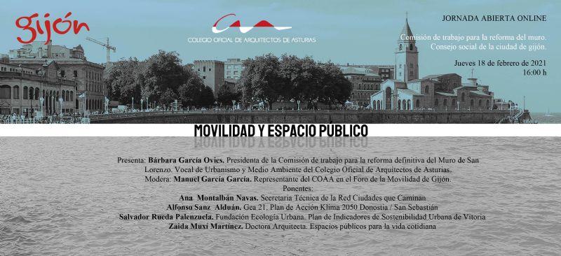 Jornada abierta: `Movilidad y Espacio Público`