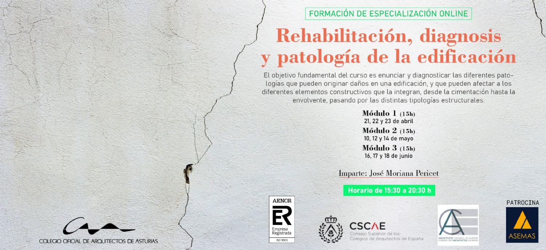 Curso Rehabilitación, Diagnosis y Patología de la Edificación
