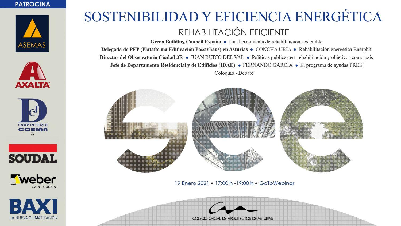 Jornadas Sostenibilidad y Eficiencia Energética 3: Rehabilitación eficiente