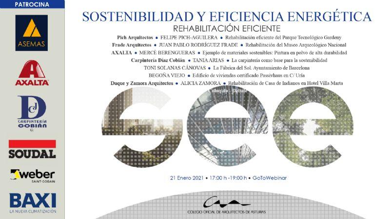 Jornadas Sostenibilidad y Eficiencia Energética 4: Rehabilitación eficiente