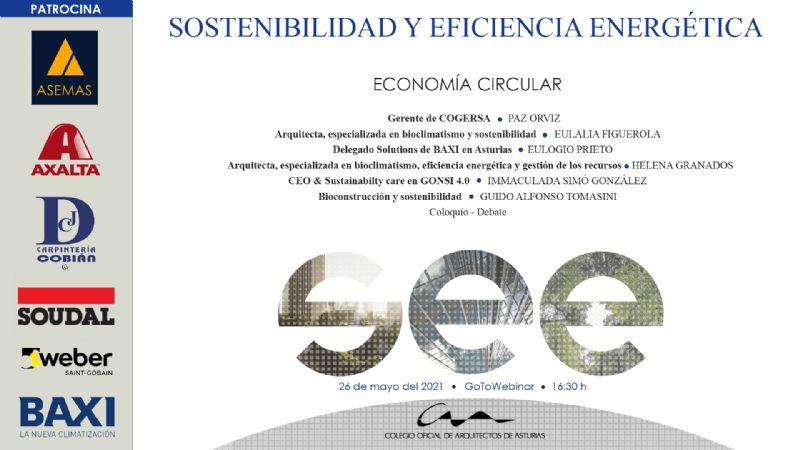 Jornadas Sostenibilidad y Eficiencia Energética: Economía Circular