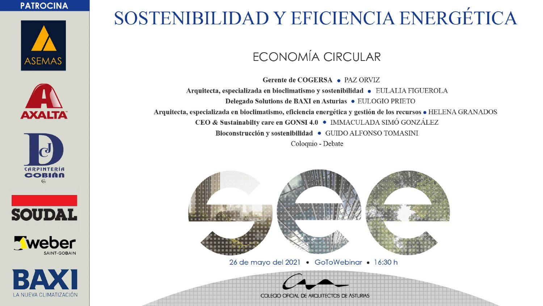 Jornadas Sostenibilidad y Eficiencia Energética 5: Economía Circular