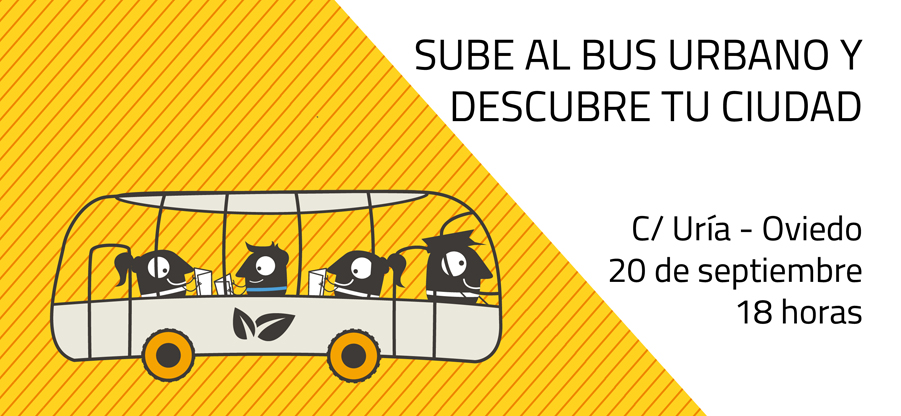 ¡Sube al bus urbano y descubre tu ciudad!
