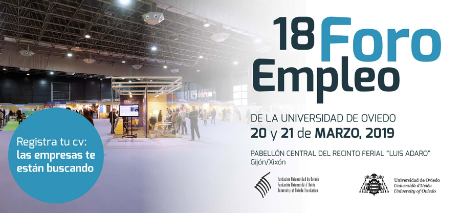 18 Foro de empleo de la Universidad de Oviedo