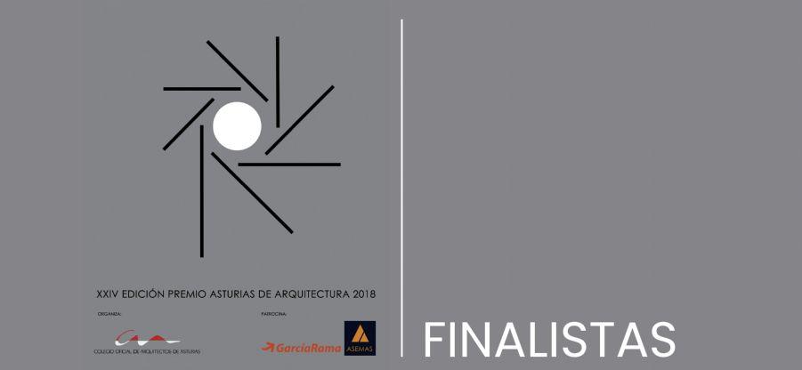 Finalistas a los Premios Asturias de Arquitectura