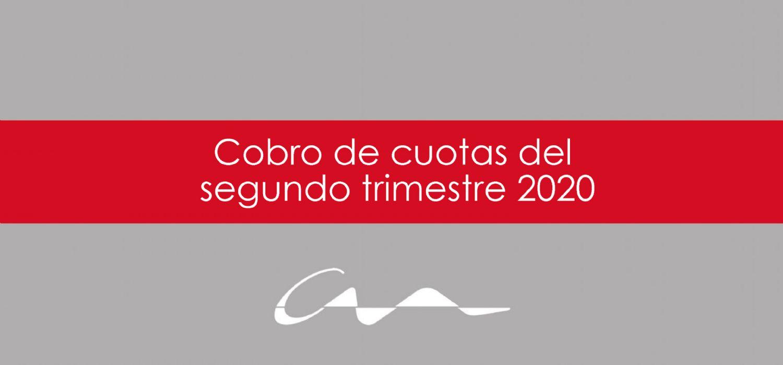 El COAA aplaza el pago de la parte  proporcional de las cuotas del segundo trimestre de 2020