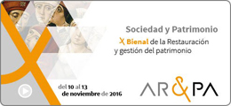 AR&PA 2016 ´Patrimonio inteligente, territorio inteligente´