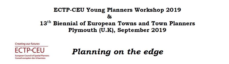 Abierta la inscripción para participar en el Young Planners Workshop 2019