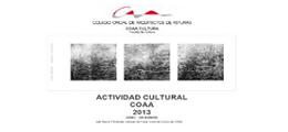 Actividad Cultural COAA 2013 (Junio - Diciembre)