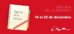 Agenda del 14 al 23 de diciembre