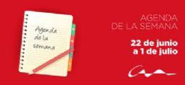 Agenda del 22 de junio al 1 de julio