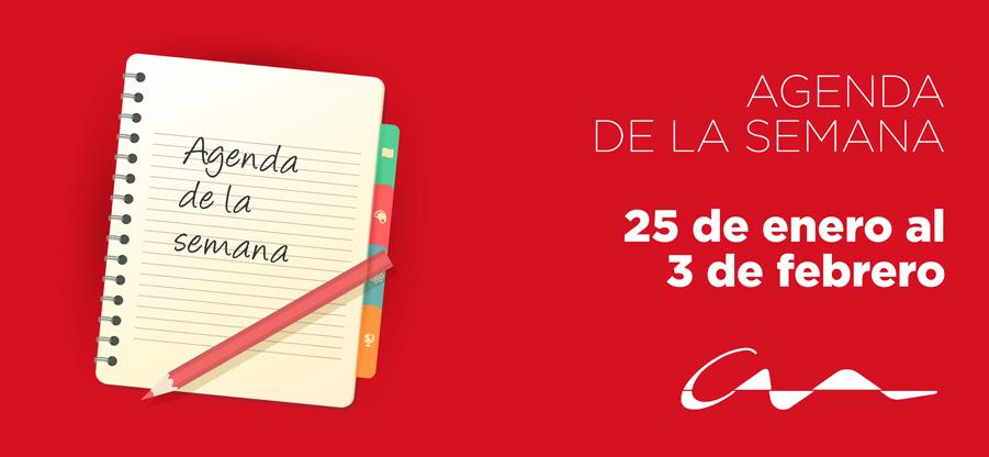 Agenda del 25 de enero al 3 de febrero