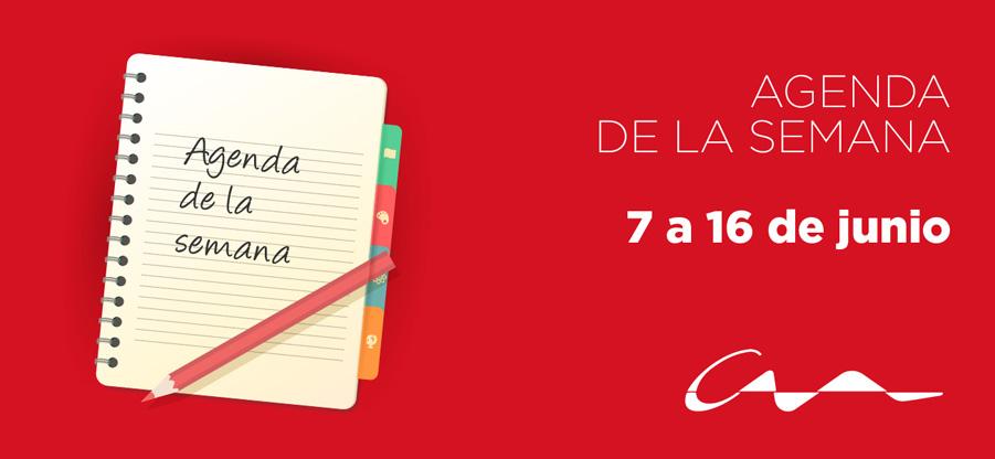 Agenda del 7 al 16 de junio