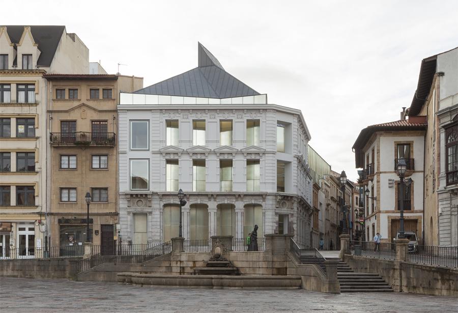 Ampliación del Museo de Bellas Artes de Asturias (Francisco Mangado, Justo López García y Vicente Díez Faixat)