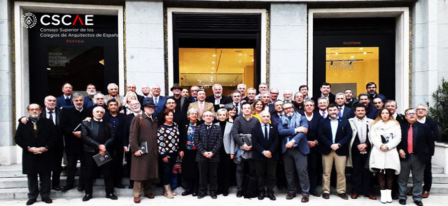 Asamblea del Consejo Superior de Colegios de Arquitectos de España