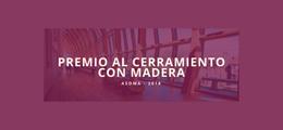 Asoma convoca el premio al mejor cerramiento con madera 2018