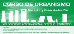Becas para el XVIII Curso Aproximación Derecho Urbanístico