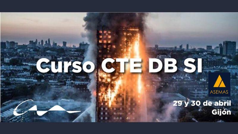 Curso CTE DB SI en la sede de Gijón del COAA