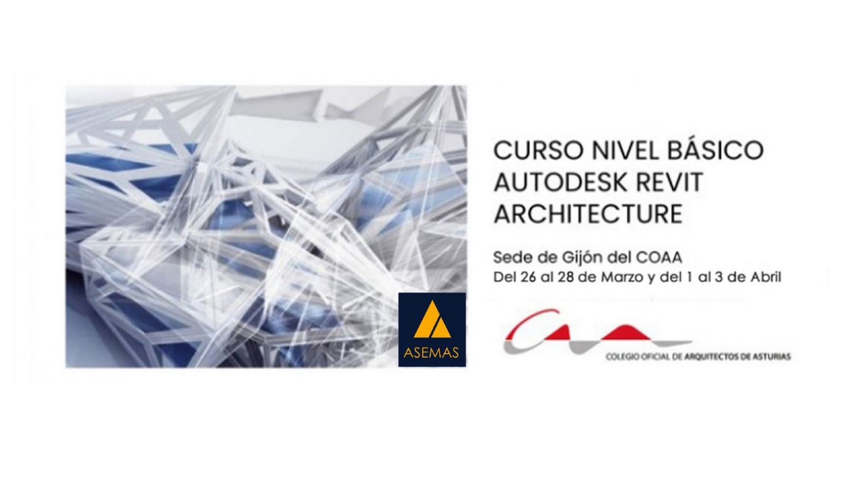 Curso Nivel Básico Autodesk Revit Architecture en Gijón