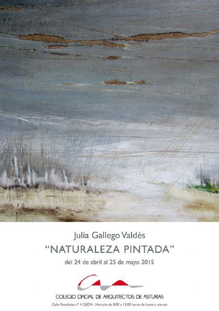 Cartel Exposición `Naturaleza pintada`