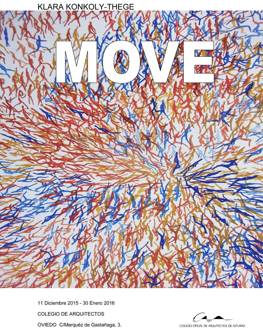 Cartel Inauguración Exposición `MOVE`
