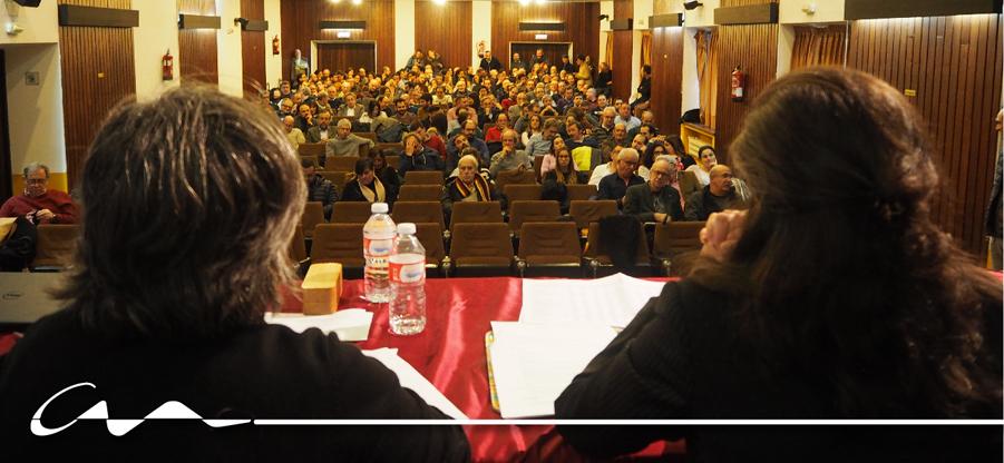 Celebrada la Asamblea General Extraordinaria del COAA