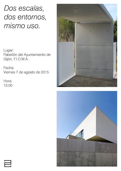 Charla de arquitectura en la FIDMA