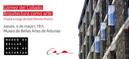 Charla sobre Gómez del Collado en el Bellas Artes