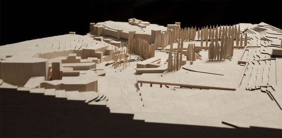 Concurso Internacional `Atrio de la Alhambra`, ganado junto a Álvaro Siza
