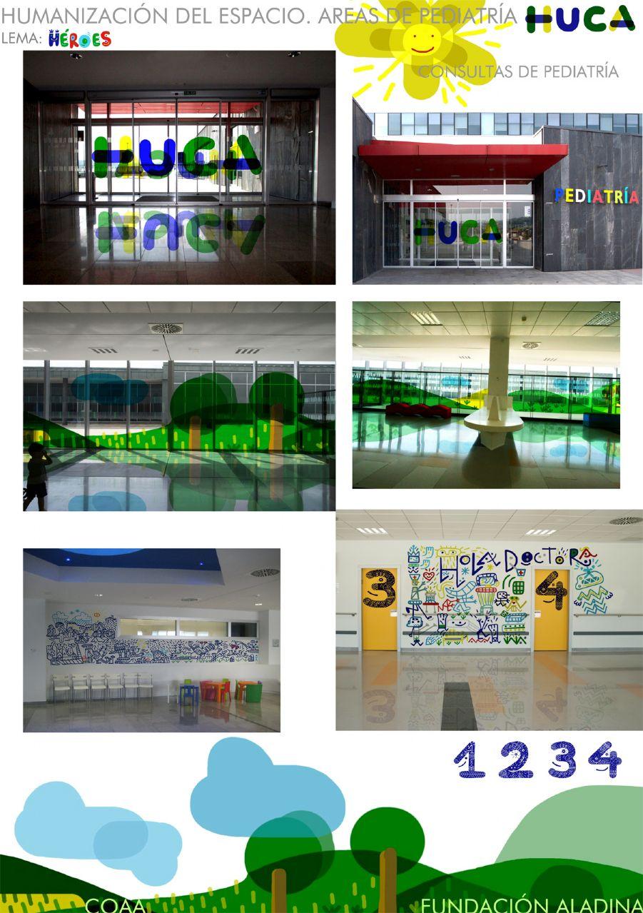 Concurso de Ideas para las áreas de pediatría del HUCA - Héroes (Panel 1)