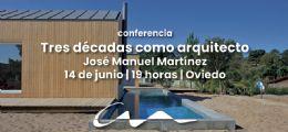 Conferencia de José Manuel Martínez en el COAA