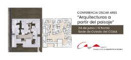 Conferencia de Óscar Ares en la sede del COAA en Oviedo