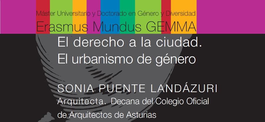 Conferencia de Sonia Puente Landázuri en la Universidad de Oviedo