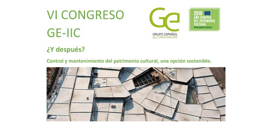 Congreso la conservación preventiva del patrimonio cultural