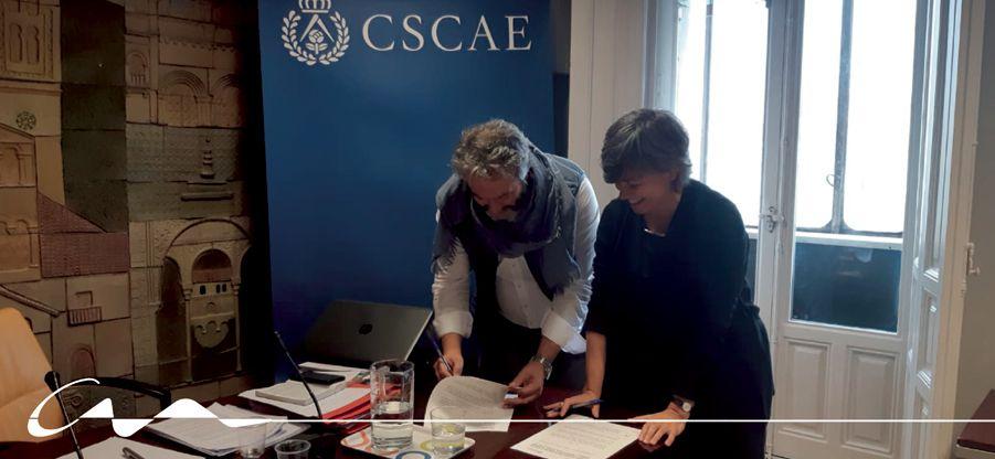 Convenio con el Colegio Oficial de Arquitectos de Galicia