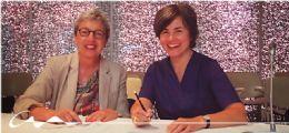 Convenio con el colegio catalán para el acceso a la formación de la Escola Sert