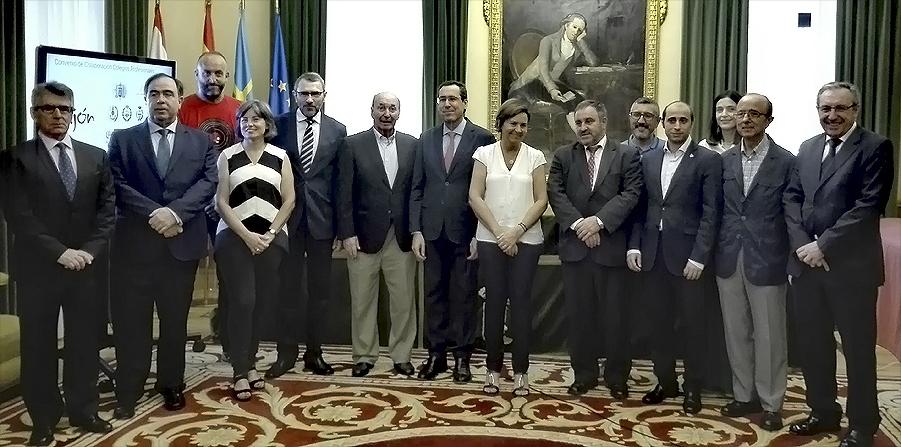 Convenio de colaboración entre el Ayuntamiento de Gijón y los Colegios Profesionales